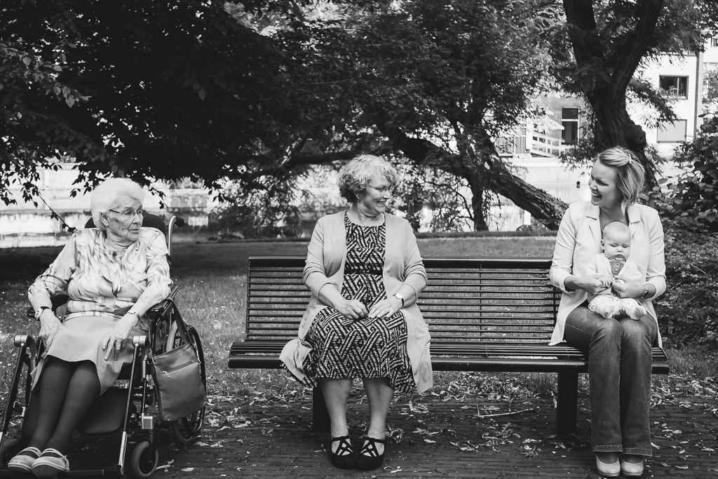 4 generaties - Family shoot
