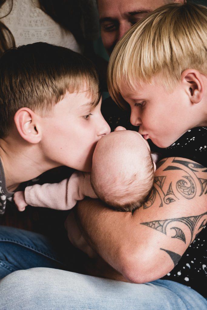 Broertjes liefde - Family shoot