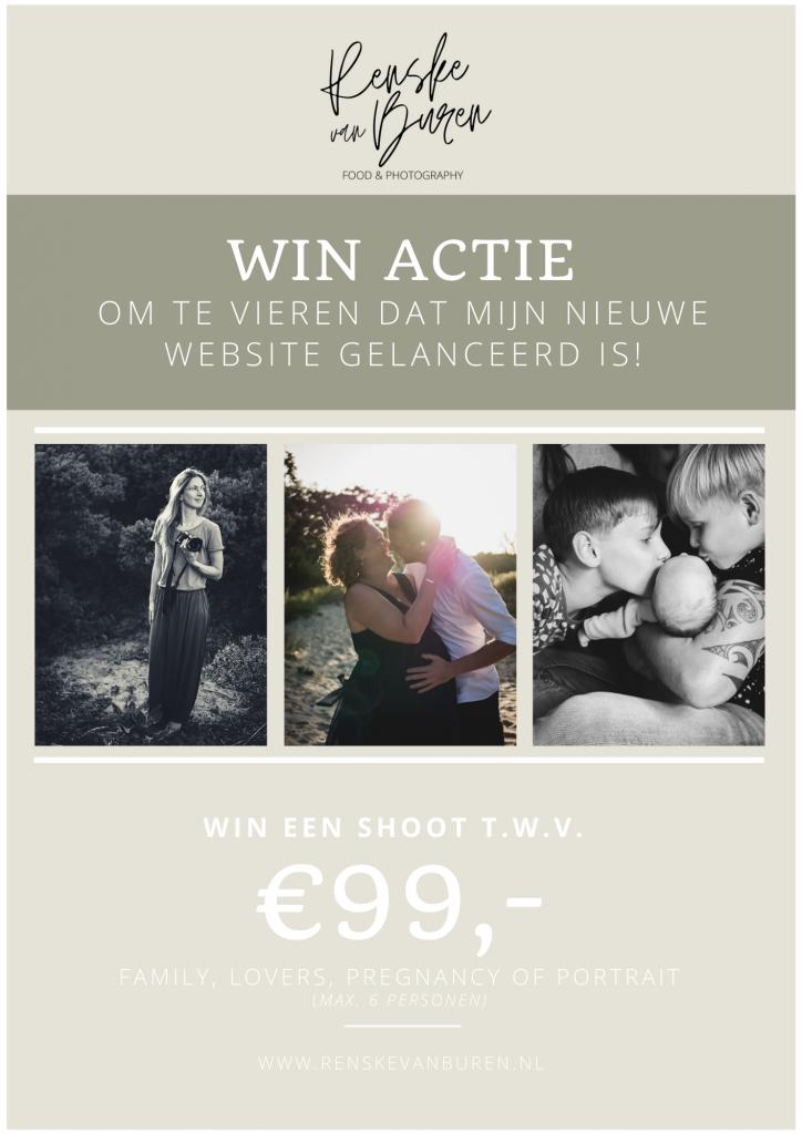 WIN actie - Renske van Buren